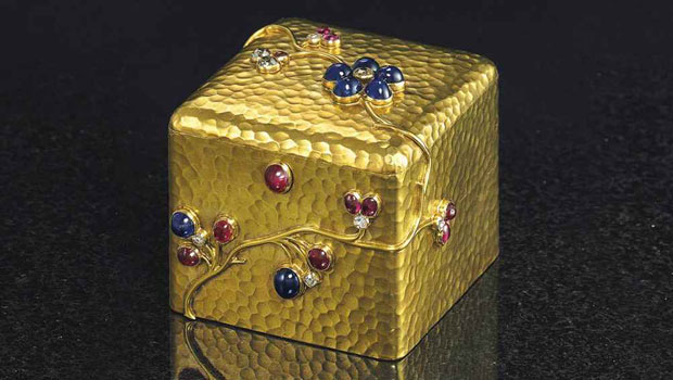Faberg Exceptional Works Led Christie&#8217;s Russian Works of Art Sale