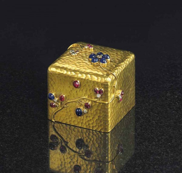 Fabergé Exceptional Works Led Christie's Russian Works of Art Sale