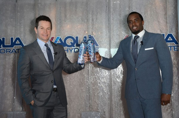 """Mark Wahlberg and Sean """"Diddy"""" Combs"""