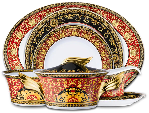 Versace Tableware Collection for a Glamorous Home