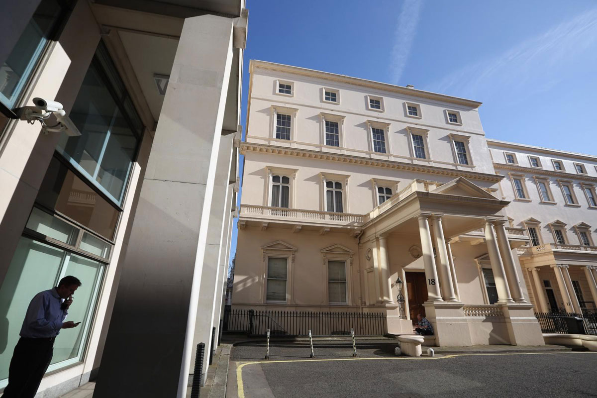 iconic 18 carlton house terrace could become uk 39 s most