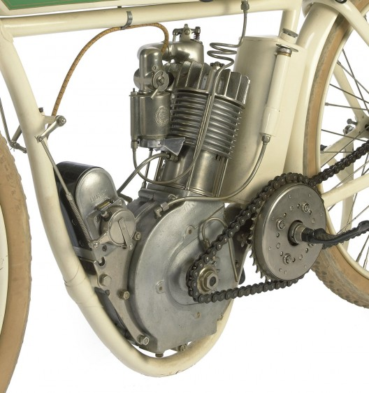 1914 Indian Model F Board Track racing motorcycl