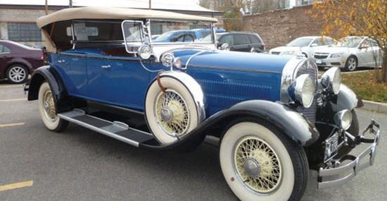 1929 Hudson Dual Cowl Phaeton