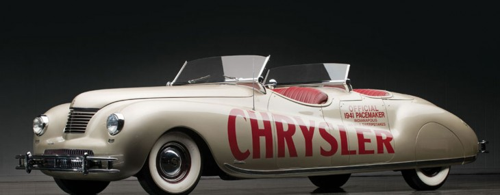 1941 Chrysler Newport Indianapolis 500 Pacemaker by LeBaron