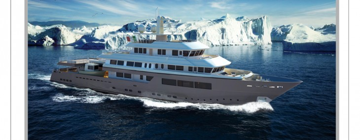 Sergio Cutolo New 57 m Explorer Yacht