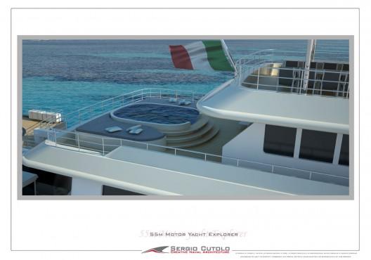 Sergio Cutolo New 57 m Explorer Yacht