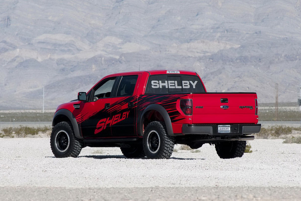 new shelby american package for ford f 150 svt raptor extravaganzi. Black Bedroom Furniture Sets. Home Design Ideas