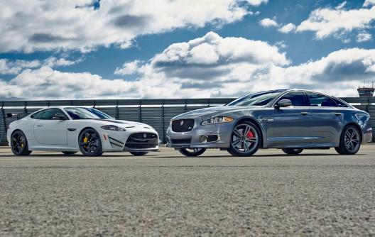 2014 Jaguar XKR-S GT and XJR