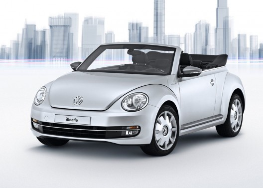 Volkswagen and Apple Unveil the iBeetle