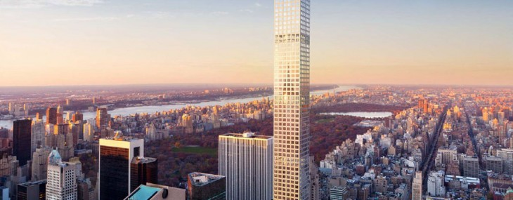 A penthouse at the tallest residential building in New York will cost $95 million