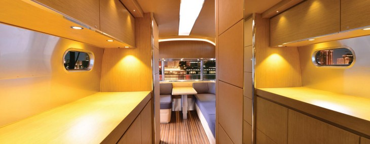 Airstream's Land Yacht Ready for Production