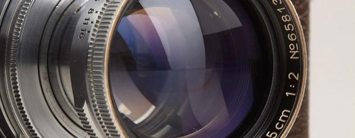 Alfred Eisenstaedt's Leica IIIa Rangefinder Camera