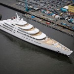 Azzam – World's Largest Yacht Officialy Launched in Germany