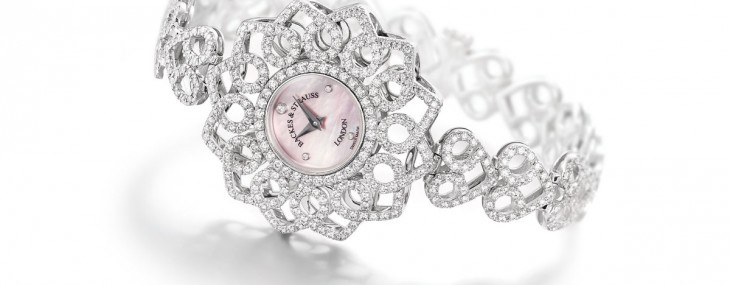 Victoria Princess Diamond Watch by Backes &amp; Strauss