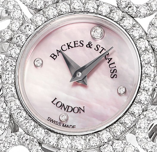 Backes & Strauss Victoria Princess Diamond Watch