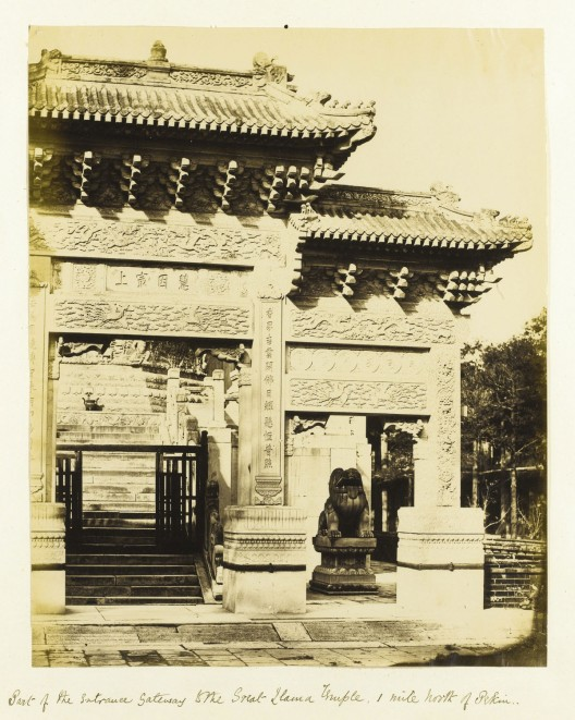 Beato Felice's Group of Photographs Taken in China During the Second Opim War