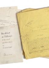 Breakfast at Tiffany's' Manuscript at RR Auctions
