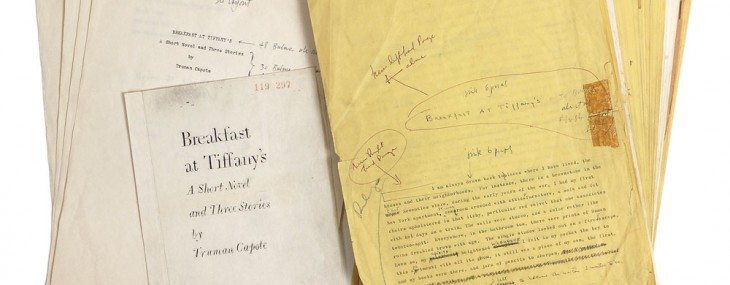 Breakfast at Tiffany's' Manuscript