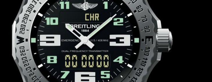 New Breitling Emergency II Watch