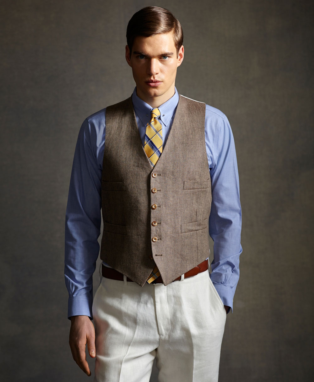 Great Gatsby Inspired Menswear Collection By Brooks