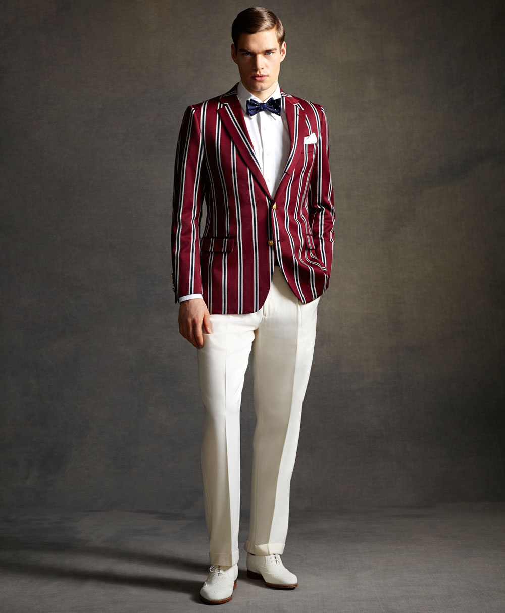 Great Gatsby Inspired Menswear Collection By Brooks Brothers Extravaganzi