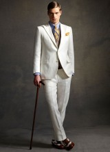 Brooks Brothers has released a limited-edition menswear collection based on suiting created the Baz Luhrmann's The Great Gatsby