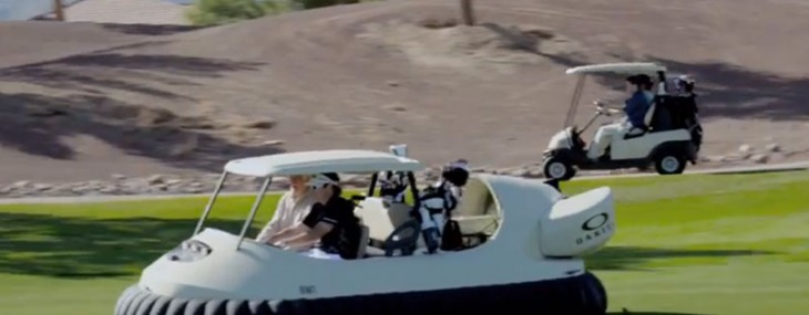 Bubba Watson's Crazy Idea – The BW1 Golf Cart