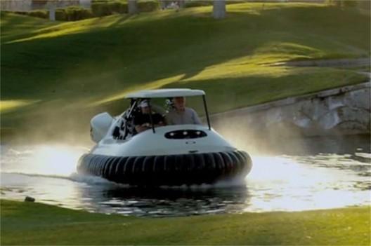 Bubba Watson's BW1 Golf Hovercraft