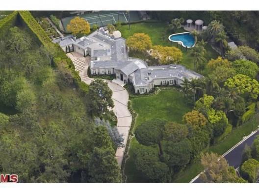 Casey Kasem's Holmby Hills Estate