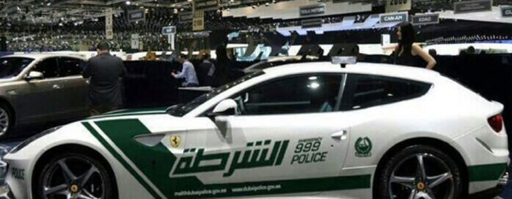 Dubai Police Adds Ferrari FF Alongside Aventador