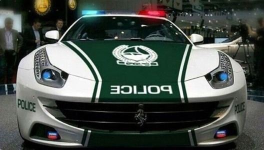 Dubai Police's Ferrari FF