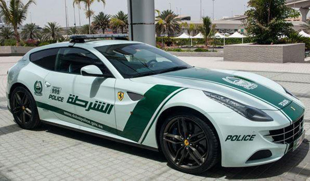 Dubai Police Car Auction May