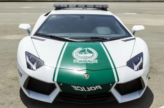 Dubai Police's Lamborghini Aventador