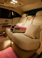 FAB1 Rolls Royce Ghost Extended Wheelbase Supports Breast Cancer Care