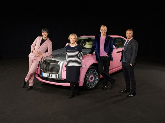 FAB1 Rolls-Royce Ghost Extended Wheelbase supports Breast Cancer Care