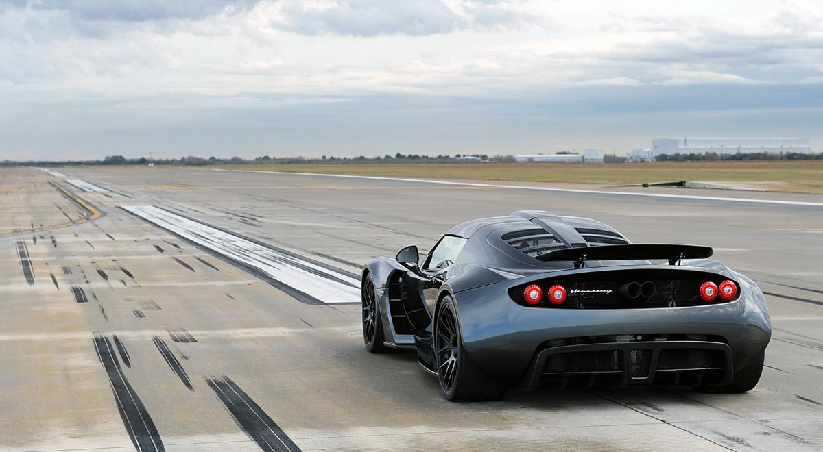 Hennessey Venom GT Fastest Car
