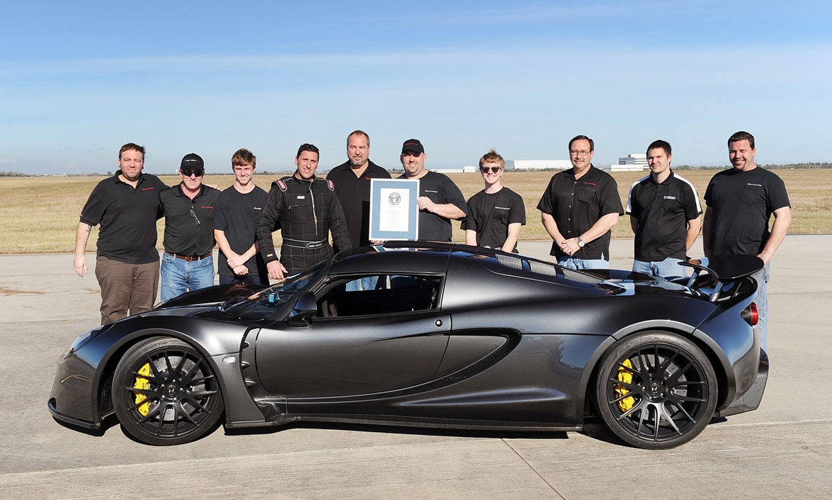 Hennessey Venom Gt The Fastest Production Car In The