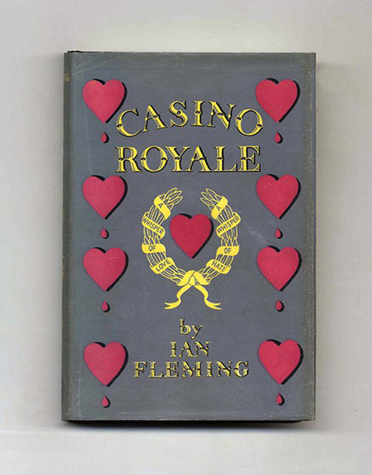 Ian Fleming's 'Casino Royale' First edition, published in 1953