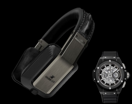 Inspiration Hublot Headphone Brings Monster's Audio Expertise Together with Hublot's Renowned Craftsmanship for a Breathtaking Music Listening and Lifestyle Experience