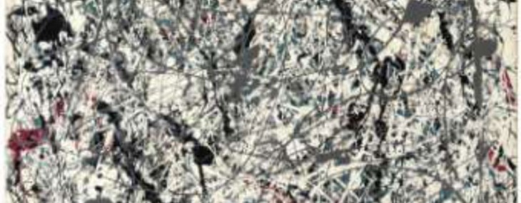 Paintings of Jackson Pollock and Roy Lichtenstein at Christie&#8217;s