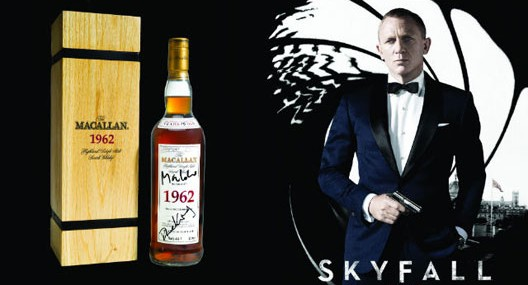 Sotheby offers The Macallan 1962 Bottle Signed by James Bond