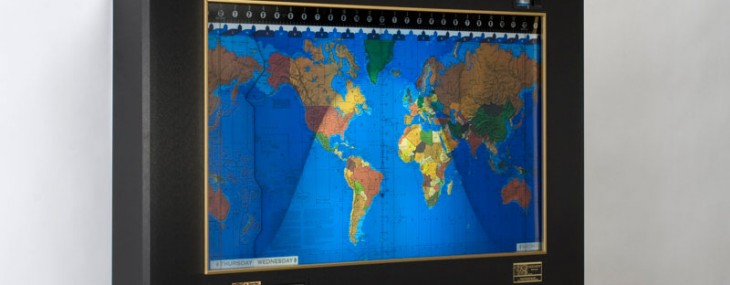 Kilburg Geochron Hand Built World Clock