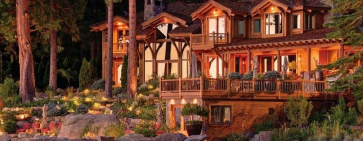 Larry Ellison's Lake Tahoe Mansion