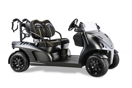 Limited Edition Garia Mansory Currus