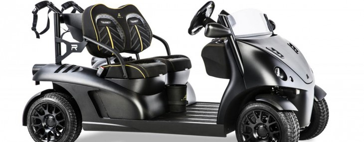 Garia Mansory Currus Golf Car