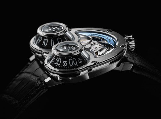 Maximilian Büsser & Friends MegaWind watch is a redesign of the iconic HM3