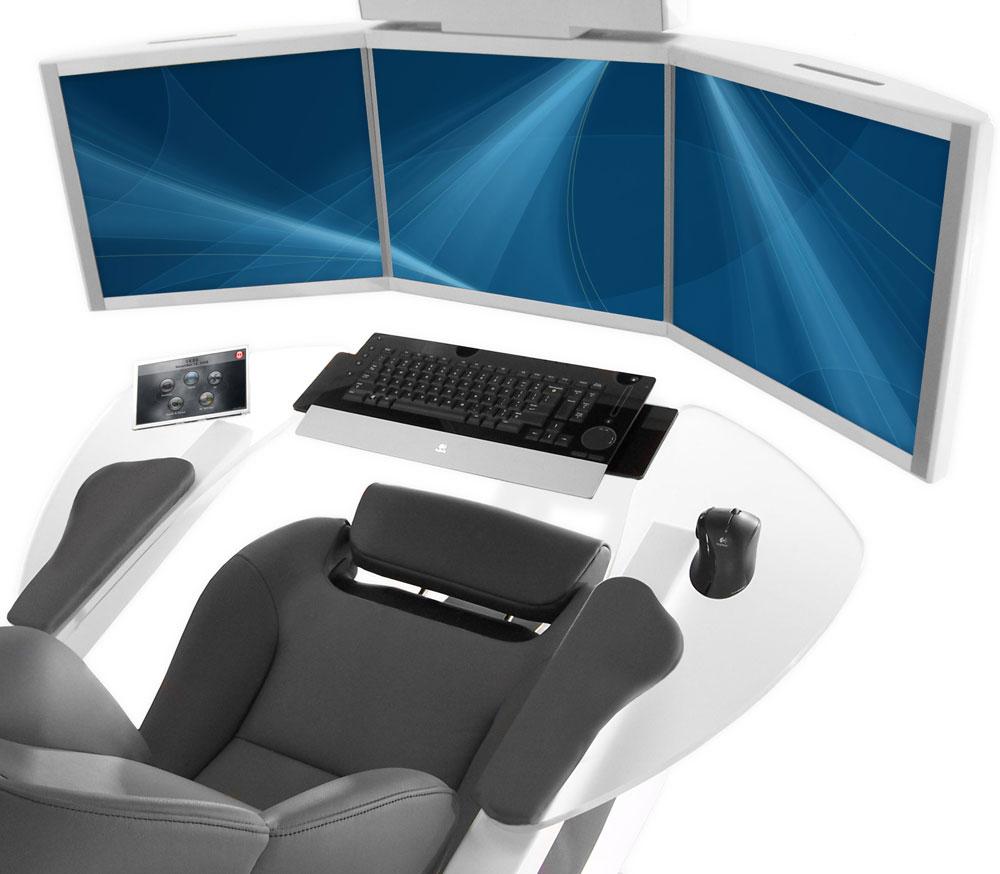 Mwe emperor 200 computer workstation extravaganzi - Ultimate cad workstation ...