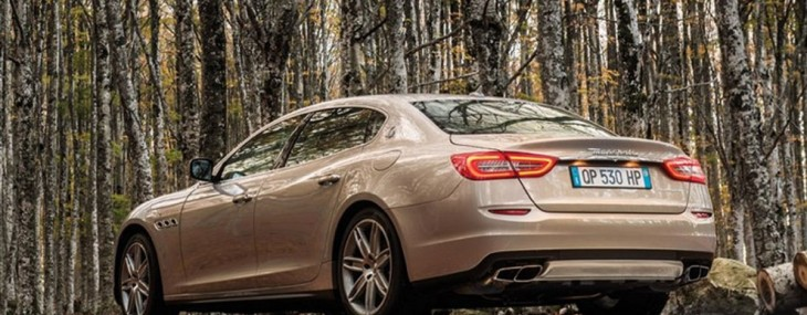 Maserati Quattroporte Limited Edition by Zegna