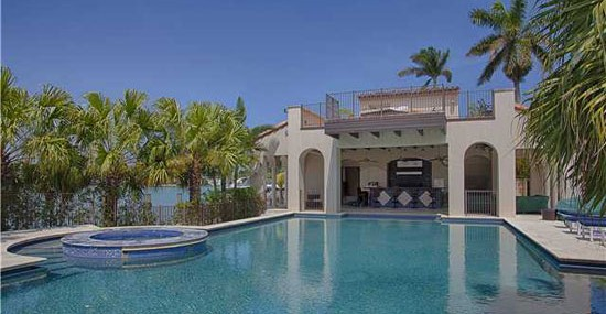 Matt Damon's Miami Beach Home