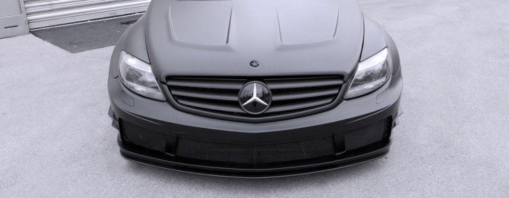 Mercedes-Benz CL 500 Black Matte Edition by Famous Parts